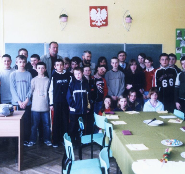 Szkoła dziś – spotkanie z uczniami w 2006 roku